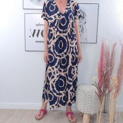 Maxi Kleid im Retro Muster