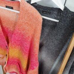 Strickjacke Farbverlauf