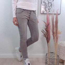 Buena Vista Damen Jeans Grau
