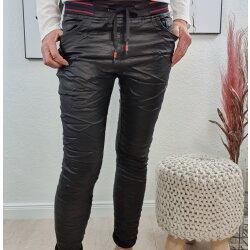 Fake Leather Schlupfhose