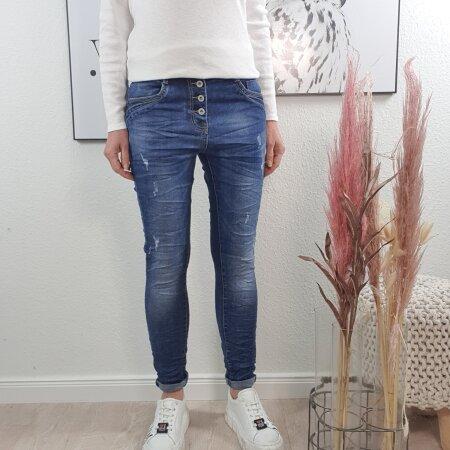 Destroyed Boyfriend Jeans von XS-XL