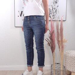 Boyfriend Jeans mit Camouflage