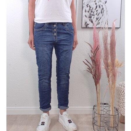 Boyfriend Jeans mit neuen Taschen von M-4XL