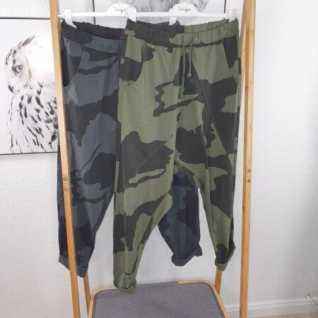 Harems Hose Camouflage Schlupfhose