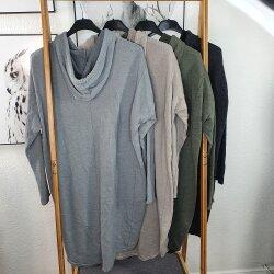 Kapuzenkleid Moin- langes Sweatshirt
