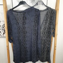 Animal Print T-Shirt Jacke