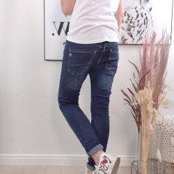 Basic Boyfriend Jeans von S-XXL