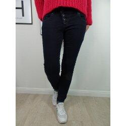 Buena Vista Damen Jeans Malibu Stretch Denim Raw Blue