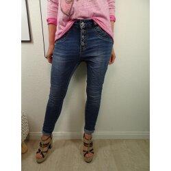 Jewelly Stretch Jeans  im baggy boyfriend Schnitt  Damen...