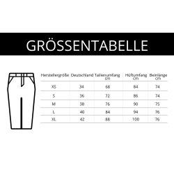 Jewelly Damen Stretch Jeans Boyfriend Cut mit offener Knopfleiste