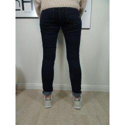 Buena Vista Tummyless Stretch Jeans | Schlankmachende Shaping Denim Hose | Figur formend für alle Größen | lange Jeanshose