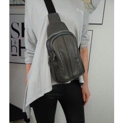 Italy borse in pelle echt Leder Damen Body Bag Rucksack...