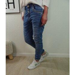 Karostar Boyfriend Jeans open button- verschiedene Waschnungen- von Gr. M bis 4XL