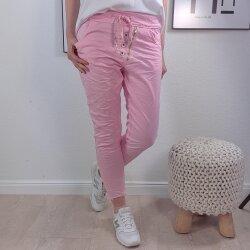 Lässige Jogger Pants mit abgeschnittenen Saum