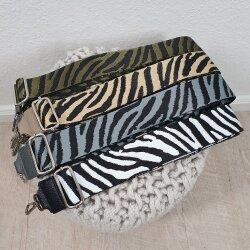 Bagstripe Zebra-Taschenriemen zum Wechseln