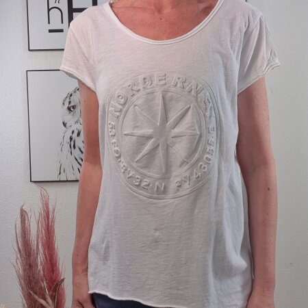 Relief Print Shirt NORDERNEY