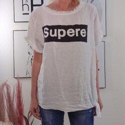 Leinenmix Shirt Supreme zum Knoten